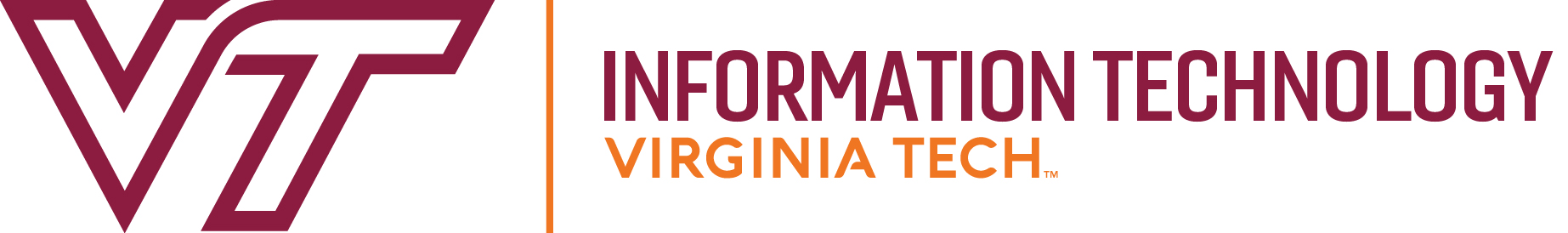 Virginia Tech Information Technology Services logo