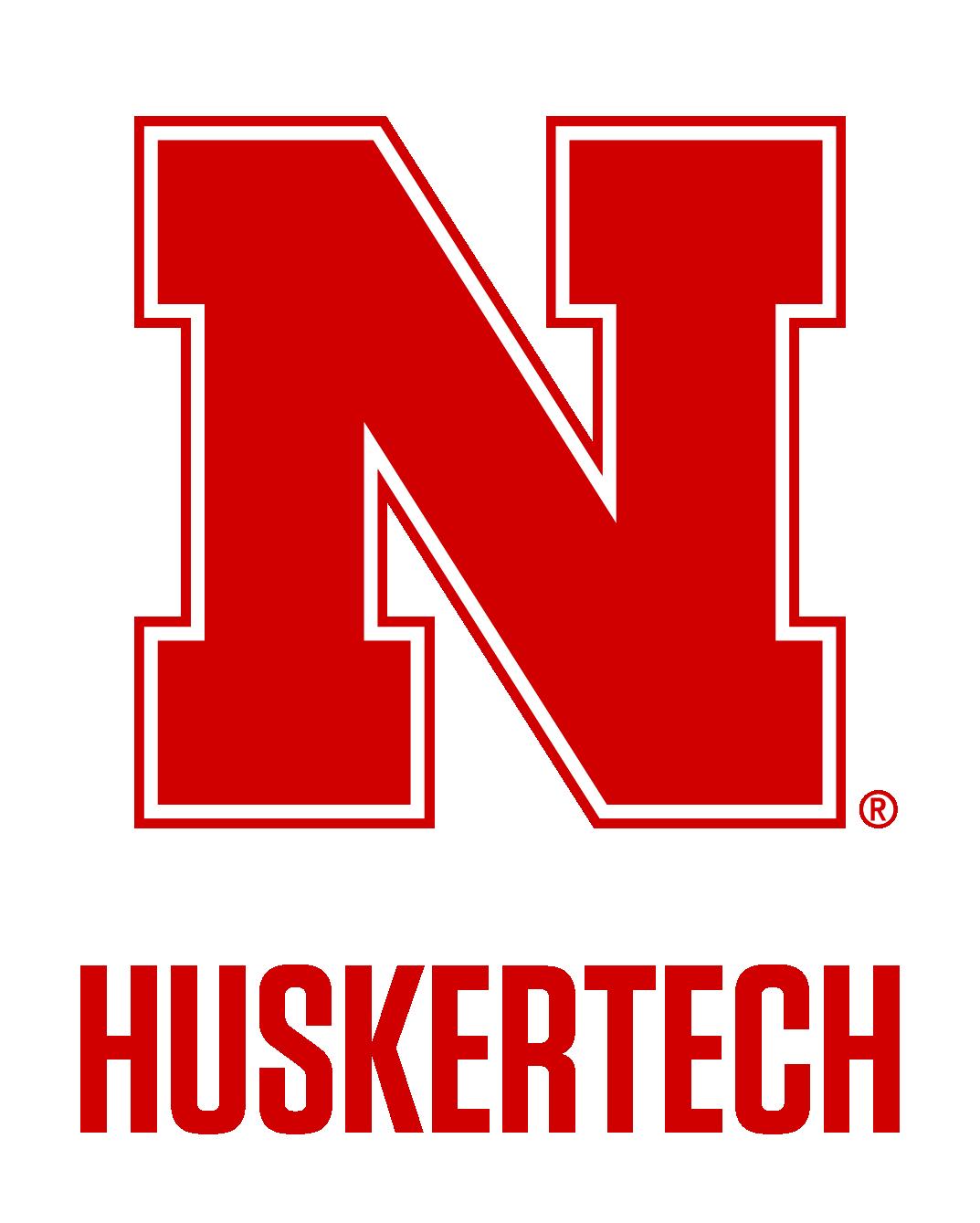 Huskertech logo lockup