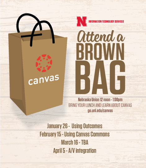 canvas brown bag