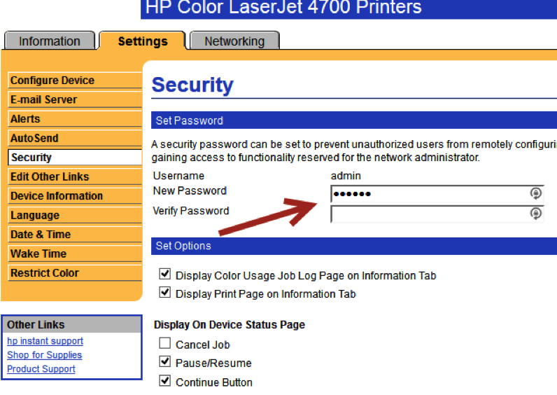 Printer Security Resources