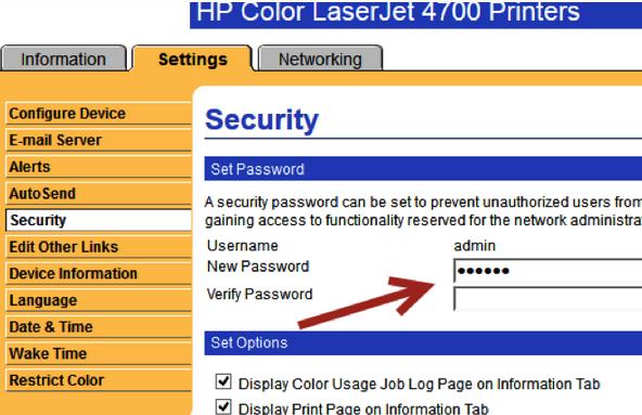 On Printer Security