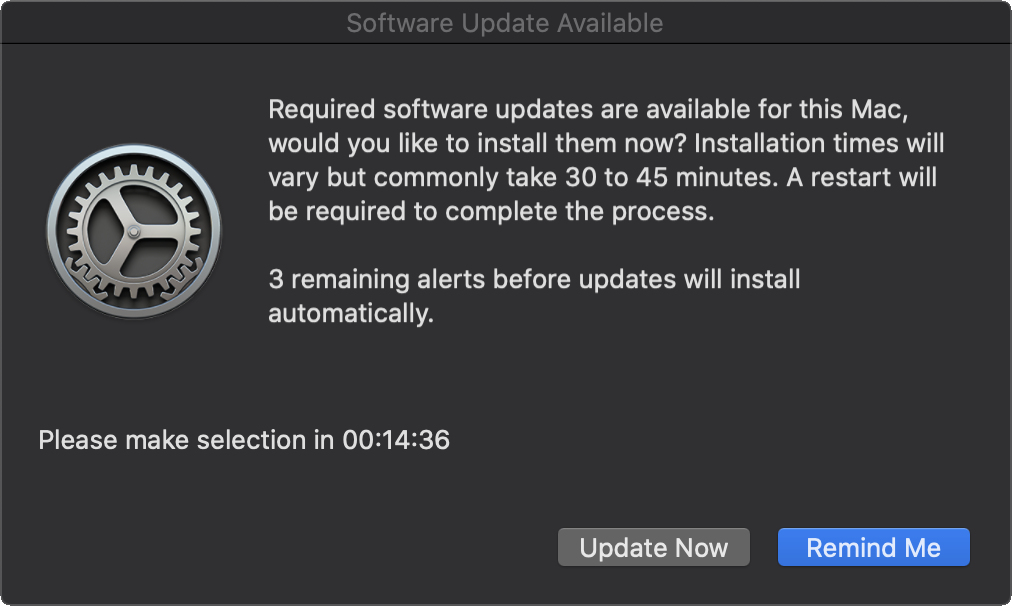 macOS Update Prompt One