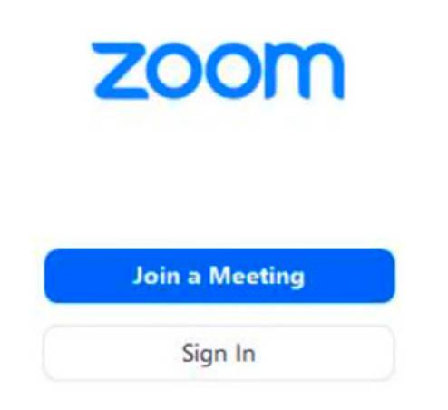 zoom join a meeting screenshot